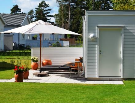 Till flerbostäder i östra Skåne valde man UnitedDoors dörrar!
